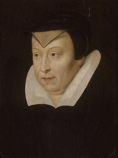 Catherine de Médicis, reine de France--Giclee Print