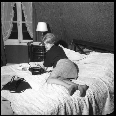 Catherine Deneuve in 1960-DR-Photographic Print