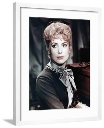 Catherine Deneuve, Mayerling, 1968--Framed Photographic Print