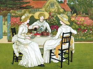 Afternoon Tea, 1886 by Catherine Greenaway