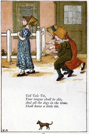 Illustration for Tell Tale Tit,Your Tounge Shall Be Slit