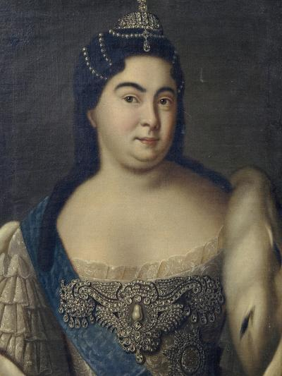 Catherine I, 1720s--Giclee Print