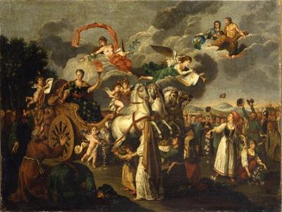Catherine II Journeying across Russia, 1787