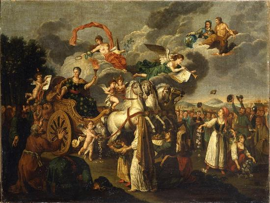 Catherine II Journeying across Russia, 1787--Giclee Print