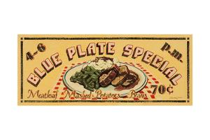 Blue Plate Special by Catherine Jones