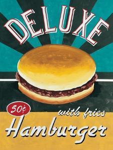 Deluxe Hamburger by Catherine Jones