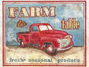 Farm to Table I by Catherine Jones