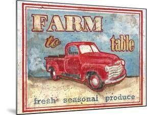 Farm to Table I by Catherine Jones