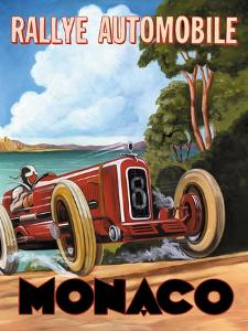 Monaco Rallye by Catherine Jones