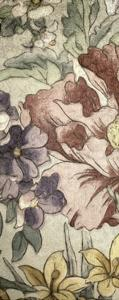 Earthtone Floral Panel II by Catherine Kohnke