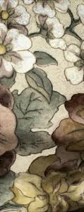 Earthtone Floral Panel III by Catherine Kohnke