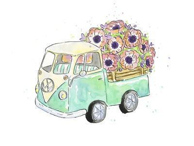 Flower Truck V