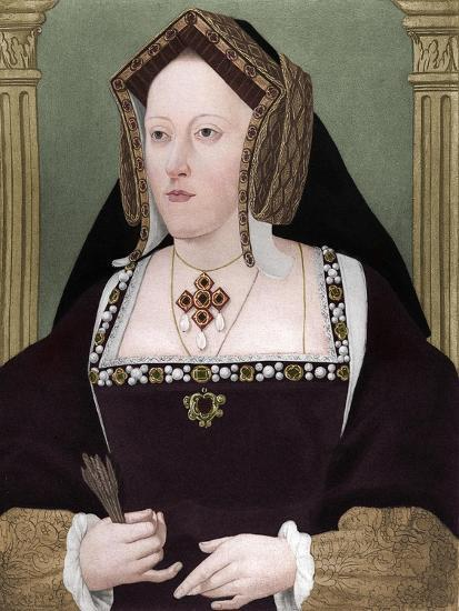 'Catherine of Aragon', c1515, (1902)-Unknown-Giclee Print