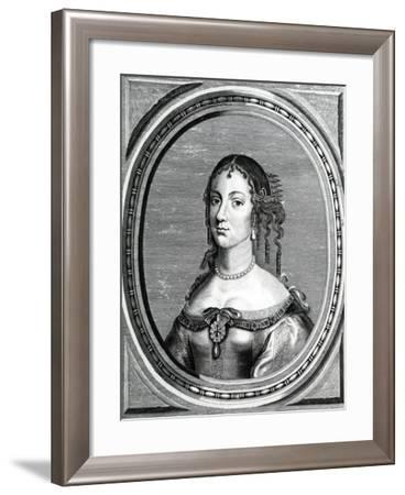 Catherine of Braganza, 18th Century--Framed Giclee Print