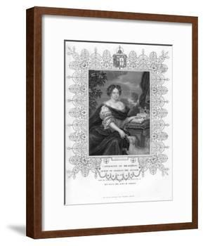 Catherine of Braganza, Queen Consort of King Charles II of England-S Freeman-Framed Giclee Print