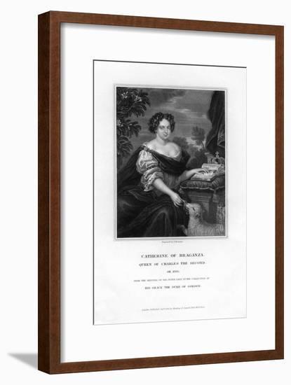 Catherine of Braganza, Queen of Charles Ii, 1833-S Freeman-Framed Giclee Print