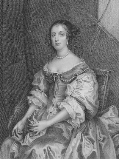 Catherine of Braganza-Sir Peter Lely-Giclee Print