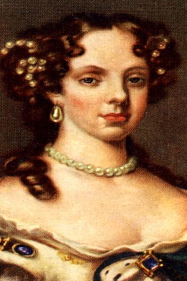 Catherine of Braganza--Giclee Print