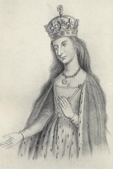 Catherine of Valois--Giclee Print