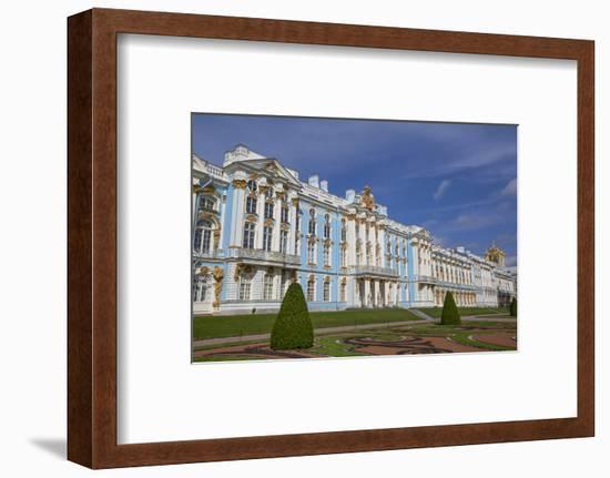 Catherine Palace, Tsarskoe Selo, Pushkin, UNESCO World Heritage Site, Russia, Europe-Richard Maschmeyer-Framed Photographic Print