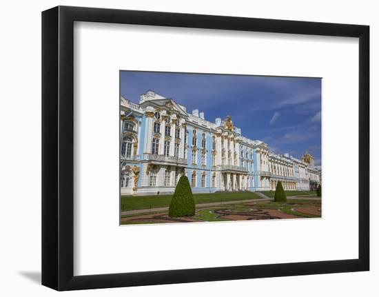 Catherine Palace, Tsarskoe Selo, Pushkin, UNESCO World Heritage Site, Russia, Europe-Richard Maschmeyer-Framed Photographic Print