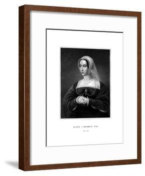 Catherine Parr, Queen Consort of Henry VIII-S Freeman-Framed Giclee Print