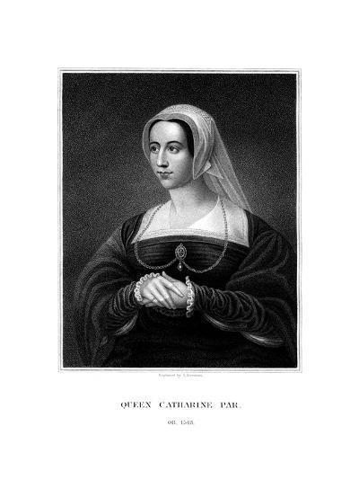 Catherine Parr, Queen Consort of Henry VIII-S Freeman-Giclee Print