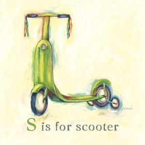 S is for Scooter by Catherine Richards