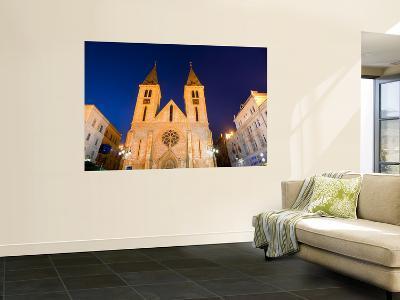 Catholic Cathedral at Dusk-Richard l'Anson-Wall Mural