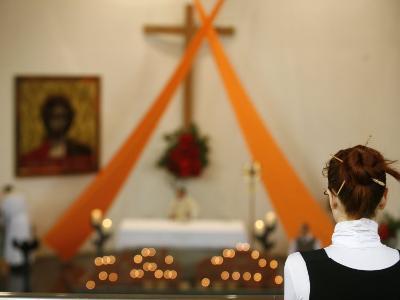 Catholic Celebration, Geneva, Switzerland, Europe-Godong-Photographic Print