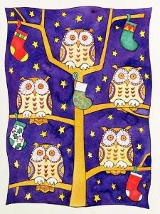 Five Wise Owls by Cathy Baxter
