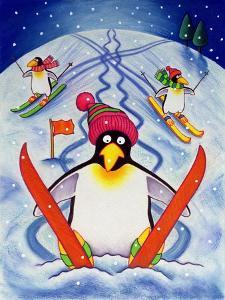 Skiing Holiday, 2000 by Cathy Baxter