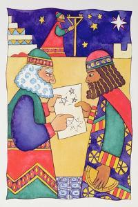 The Wise Men Looking for the Star of Bethlehem by Cathy Baxter