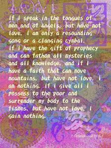 1 Corinthians 13:1-3 by Cathy Cute