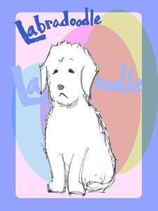Labradoodle 1 by Cathy Cute
