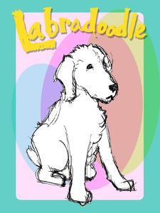 Labradoodle 2 by Cathy Cute