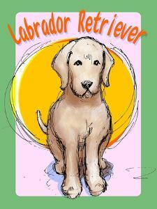 Labrador Retriever 3 by Cathy Cute