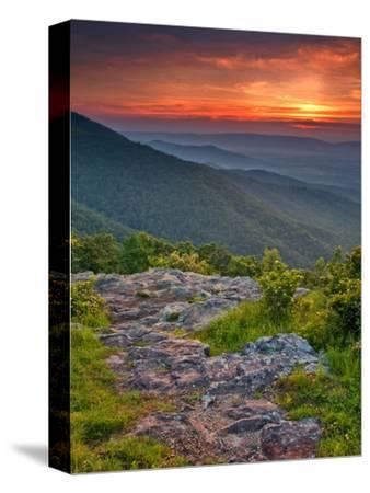 Franklin Cliff Overlook, Virginia, USA