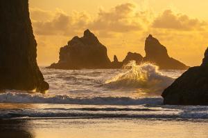 USA, Oregon, Bandon. Shore Scenic by Cathy & Gordon Illg