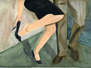 27.09.09 - They Danced So Hard She Had to Take Her Shoes Off, 2009 by Cathy Lomax