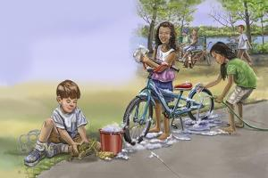 Nature Recycles Spread 29 Kids Recycle by Cathy Morrison Illustrates