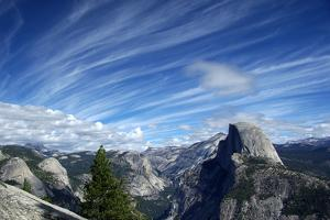 Above Half Dome by CathyMC