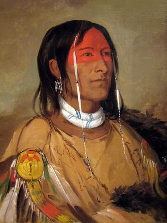 George Catlin Cree Indian