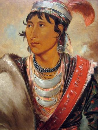 George Catlin Seminole Indian