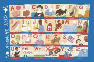America's Alphabet by Catrina Genovese