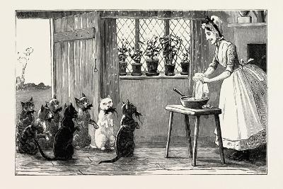 Cats and Mice, 1890--Giclee Print