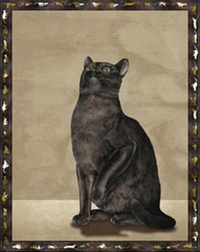 Cats I--Art Print