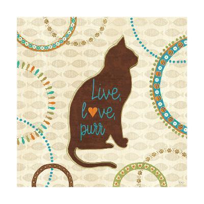 Cats Life VII-Veronique Charron-Art Print