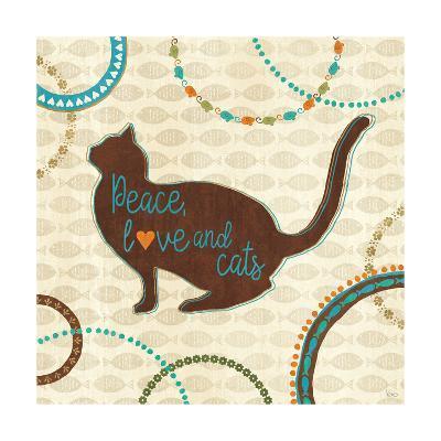 Cats Life VIII-Veronique Charron-Art Print