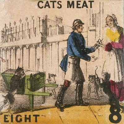 Cats Meat, Cries of London, C1840-TH Jones-Giclee Print